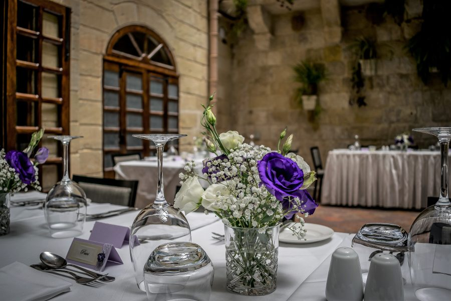 Xara Catering Wedding at the Medina Restaurant Mdina Malta wedding weddings Malta