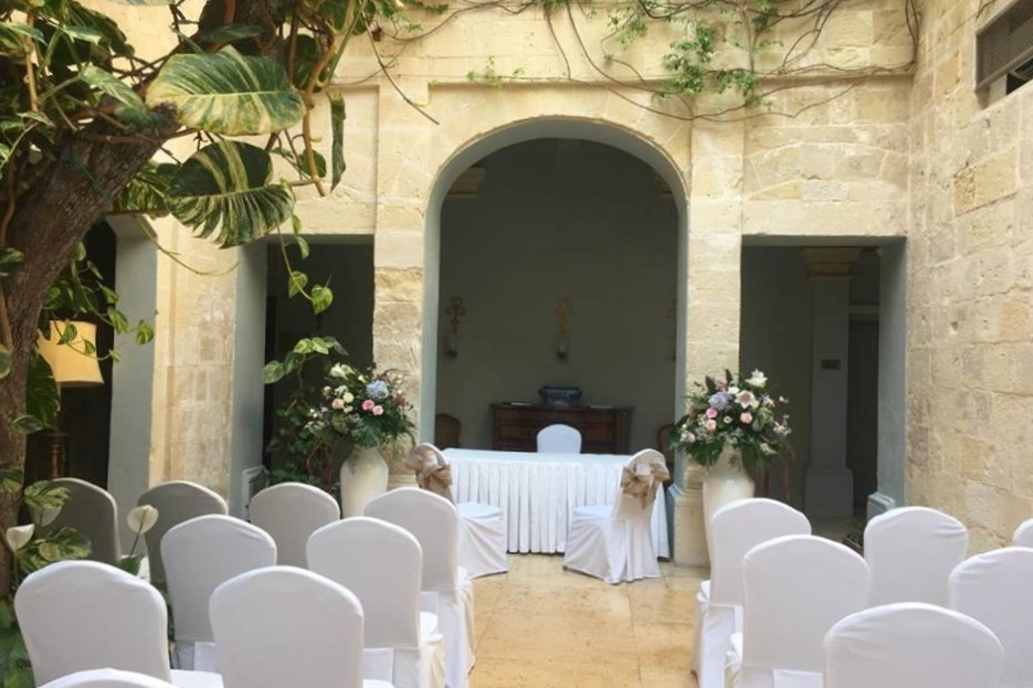 Xara Catering The Xara Palace Atrium wedding weddings Malta