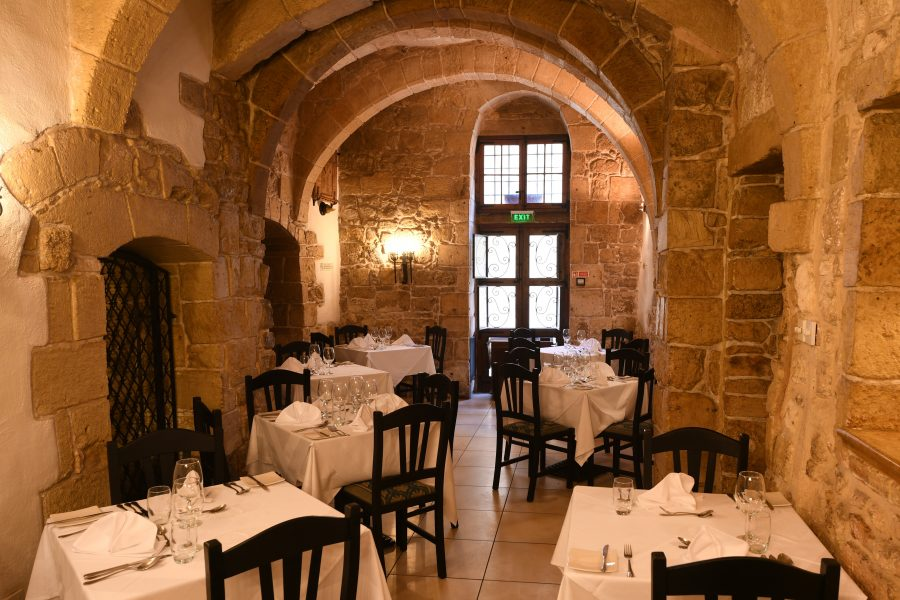 Xara Catering Medina Restaurant Inner Chamber in Mdina, Malta weddings malta