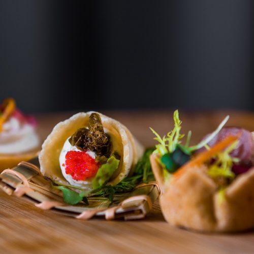 Xara Catering Canapes Selection weddings malta