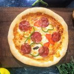 Pizza Salami & Pepperoni - Food Delivery by Xara Catering