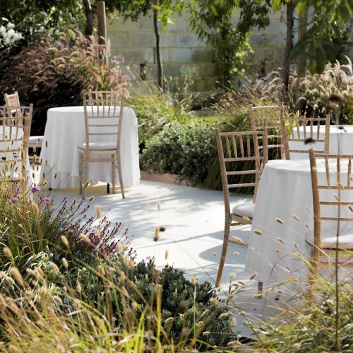 The Xara Lodge Back Patio Wedding Set Up
